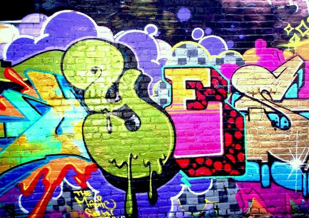 Химки украсили граффити